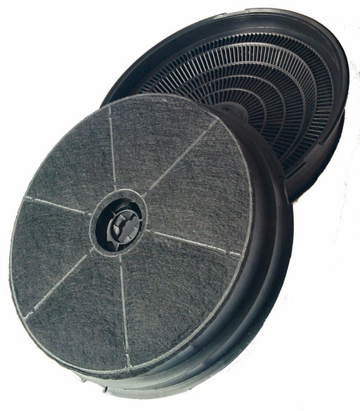 2 x Carbon Charcoal Cooker Hood Extractor Filters for Cooke & Lewis CLIH60-C - bartyspares