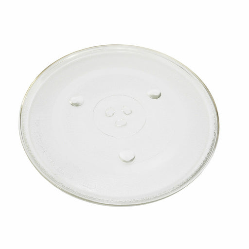 "UNIVERSAL Glass Plate for SHARP Microwave Turntable 345mm 13.5"" - bartyspares"