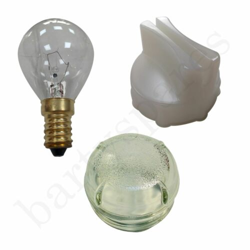 Screw In Glass Lamp Lens Cover Removal Tool & Light Bulb for Bosch Oven Cooker