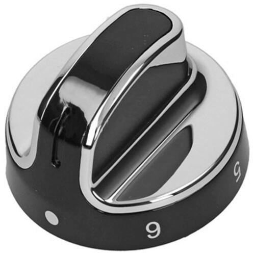 Genuine Stoves New World Hob Oven Cooker Knob Silver Black 444442687