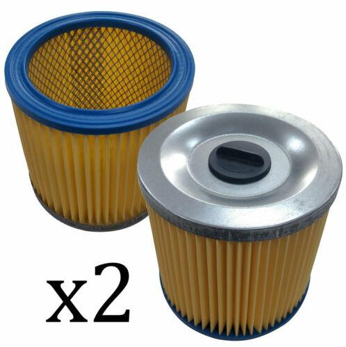 2 x Cartridge Filters for Goblin Aquavac Pro 100 200 300 300C Vacuum Cleaner