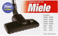 35mm Floor Brush Tool Head for MIELE Vacuum Cleaner Hoover S8330 S8340 Cat & Dog - bartyspares
