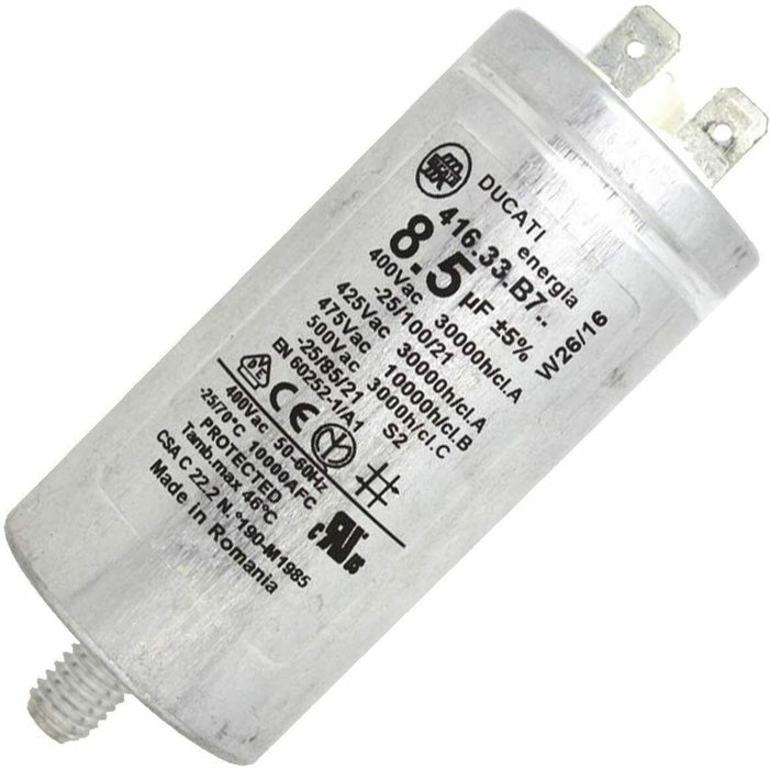 Genuine Creda Hotpoint Tumble Dryer Capacitor 8.5uF C00258619