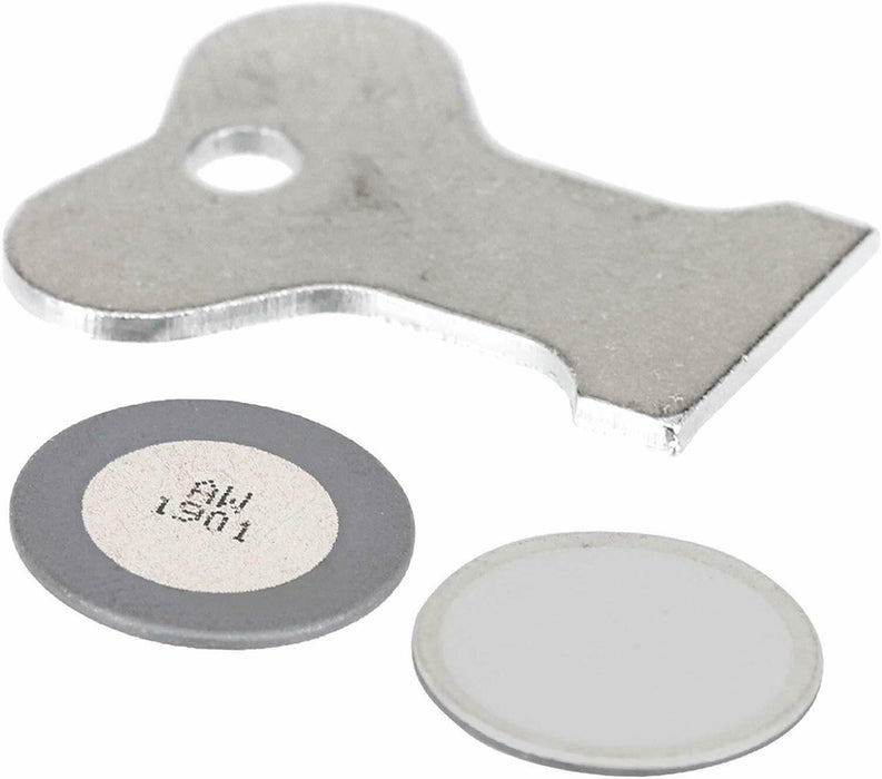 2 x Glass Disk Transducer Discs for DIPMPLEX Opti-Myst Electric Fire Heater - bartyspares