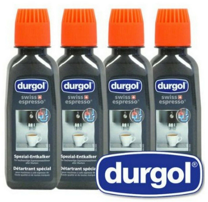 Genuine Original Durgol Coffee Machine Descaler (Pack of 4)