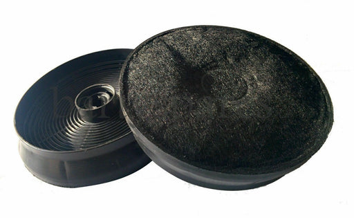 Two Carbon Charcoal Filter For New World Stoves Cooker Hood 150mm Diameter - bartyspares