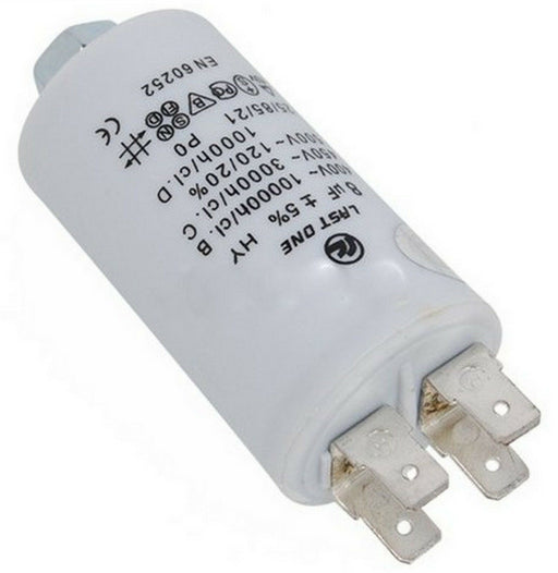 Motor Run Start Capacitor for AEG White Knight Hoover Candy Tricity Electrolux Whirlpool Zanussi Bosch Tumble Dryers 8uf 8 uf - bartyspares