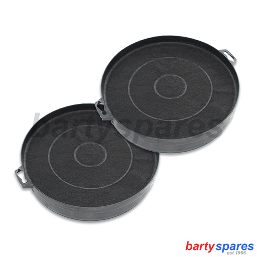 BOSCH NEFF Charcoal Carbon Cooker Hood FILTERS 353121 Correct Thickness 43mm - bartyspares