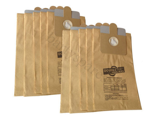 10 Dust Bags for RL095 RL111 Ash BBQ Fire Wood Debris Collector vacuum Cleaner