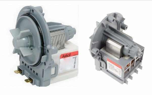 Two Genuine Askoll Drain Pumps For Lg Washing Machines