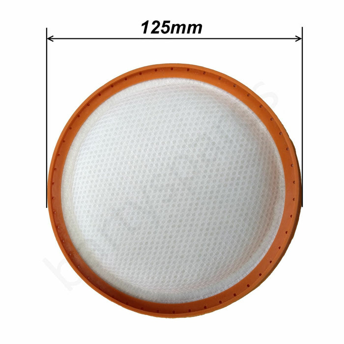 Pre Motor Filter For Goblin GVC304B Vacuum Cleaner Hoover 125mm