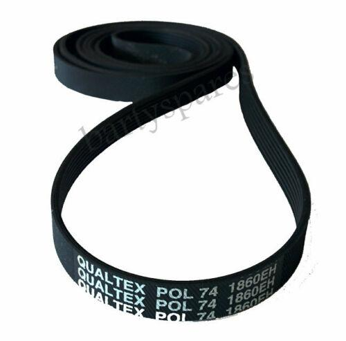 Tumble Dryer Belt for HOTPOINT TVM560 TVM562 TVM570 TDL10 TDL11 TDL30 1860H7 - bartyspares