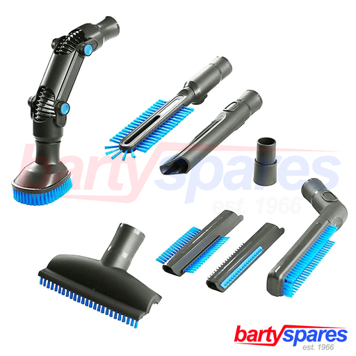 8 Piece UNIVERSAL 32mm & 35mm Vacuum Cleaner Accessory Set Cleaning Tool Kit - bartyspares