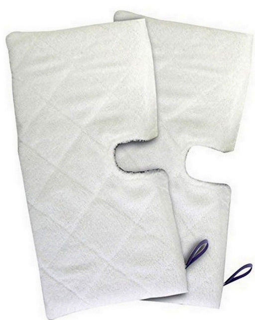 TWO Replacement Pads for Shark Pocket Steam Mop XLT3501 S3501 S3601 S3901 - bartyspares