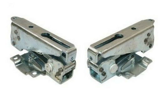 2 x Genuine Schreiber Fridge Freezer Integrated Ingol Door Hinges Bracket Pair - bartyspares