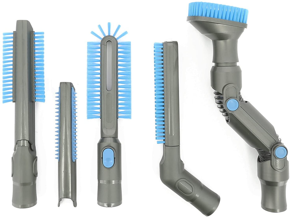 8 Piece DYSON DC16 DC31 DC34 DC35 DC44 V6  Vacuum Cleaner Accessory Set Cleaning Tool Kit - bartyspares