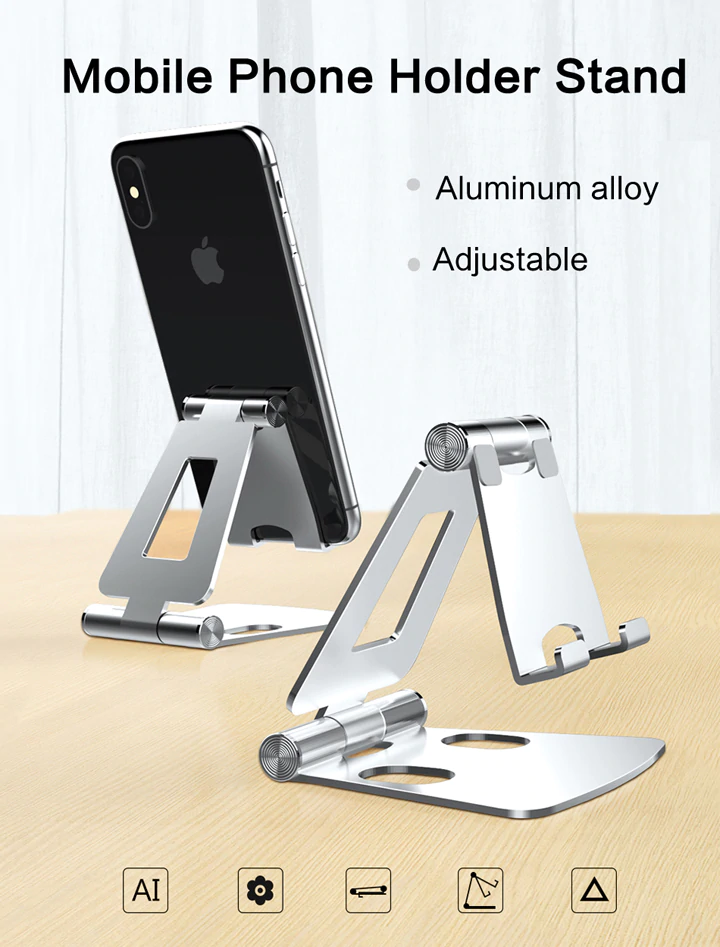 Aluminium Mobile Phone Holder Stand