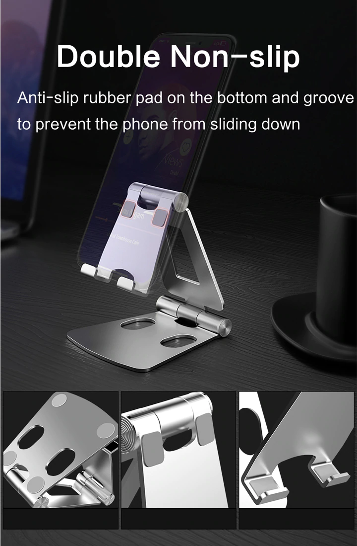 Anti-Slip Rubber Of Mobile Holder