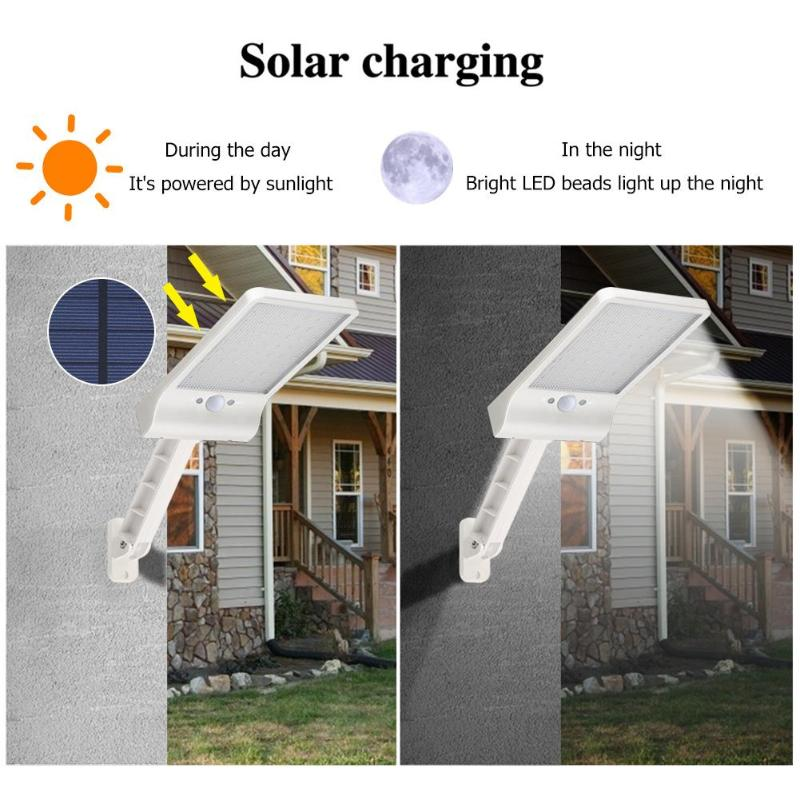 Solar Charging Wall Light | Smart Gadget Australia