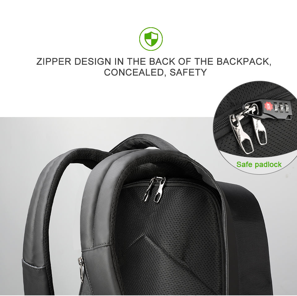 safe padlock backpack | Smart gadget