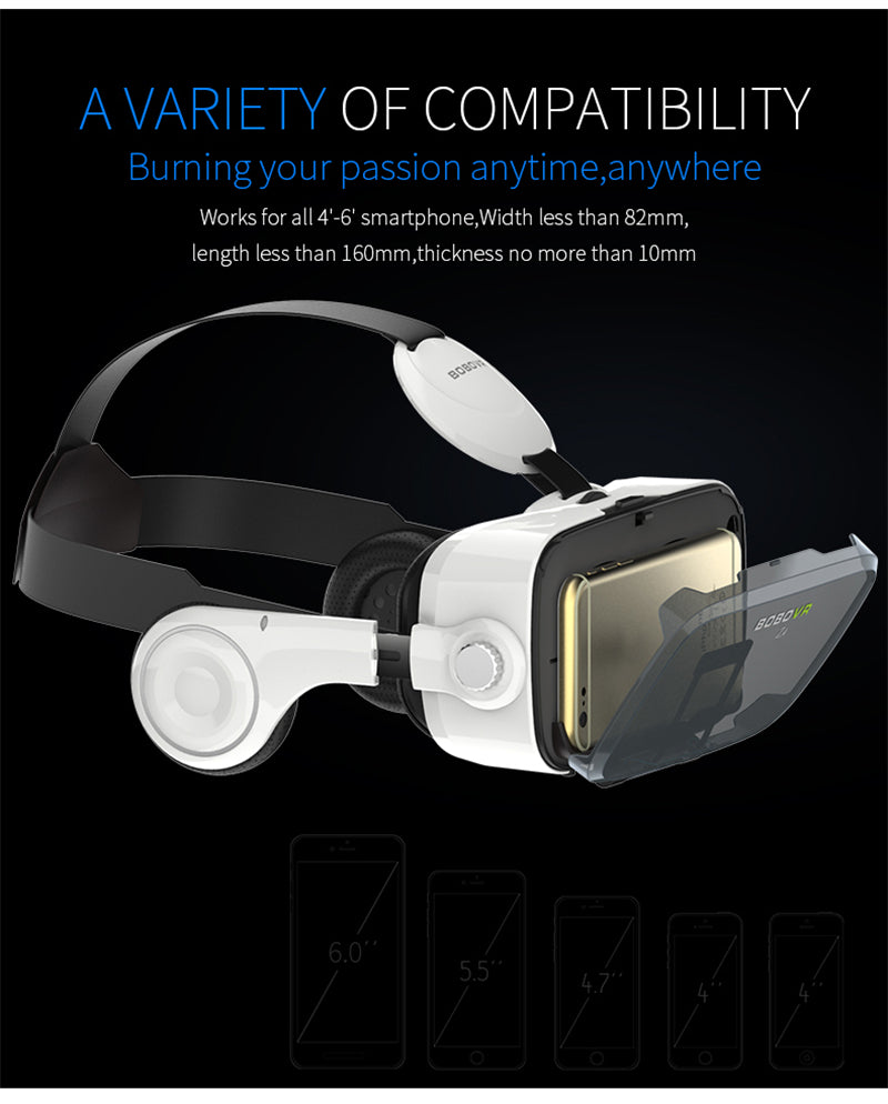 More compatibility with mobile devices VR Glasses