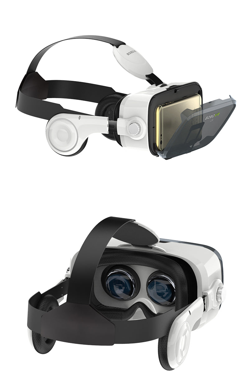 View of VR Glasses