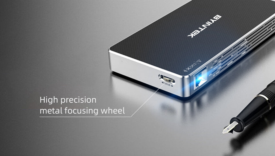 Charge with Power Bank mini projector
