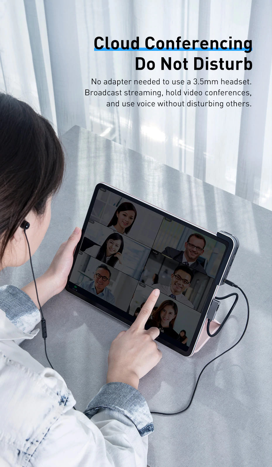 Easy in Cloud Conferencing with USB C HUB