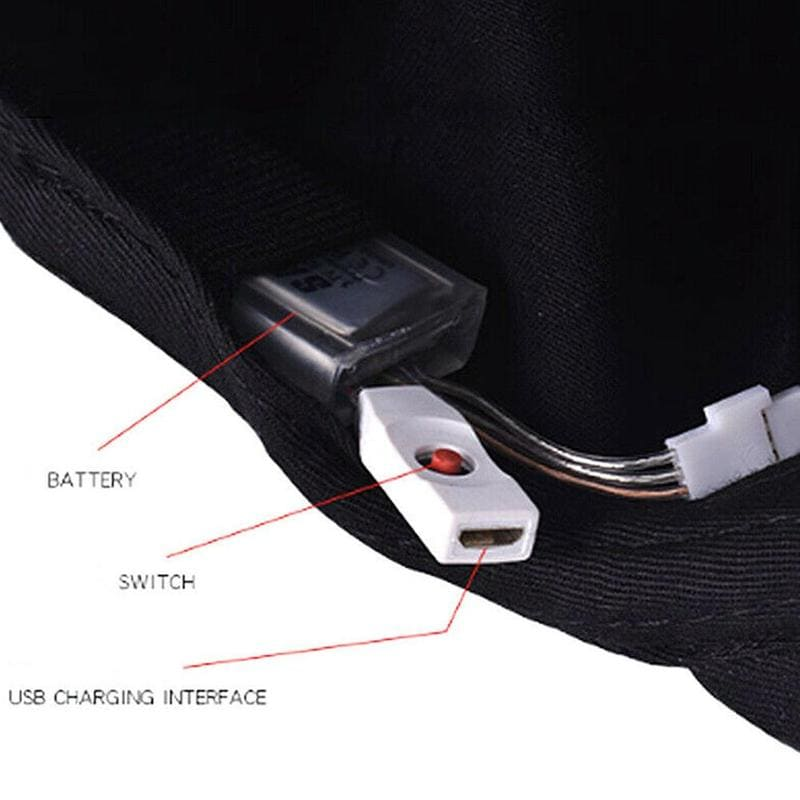 Battery & Button Functionality of LED Bluetooth hat
