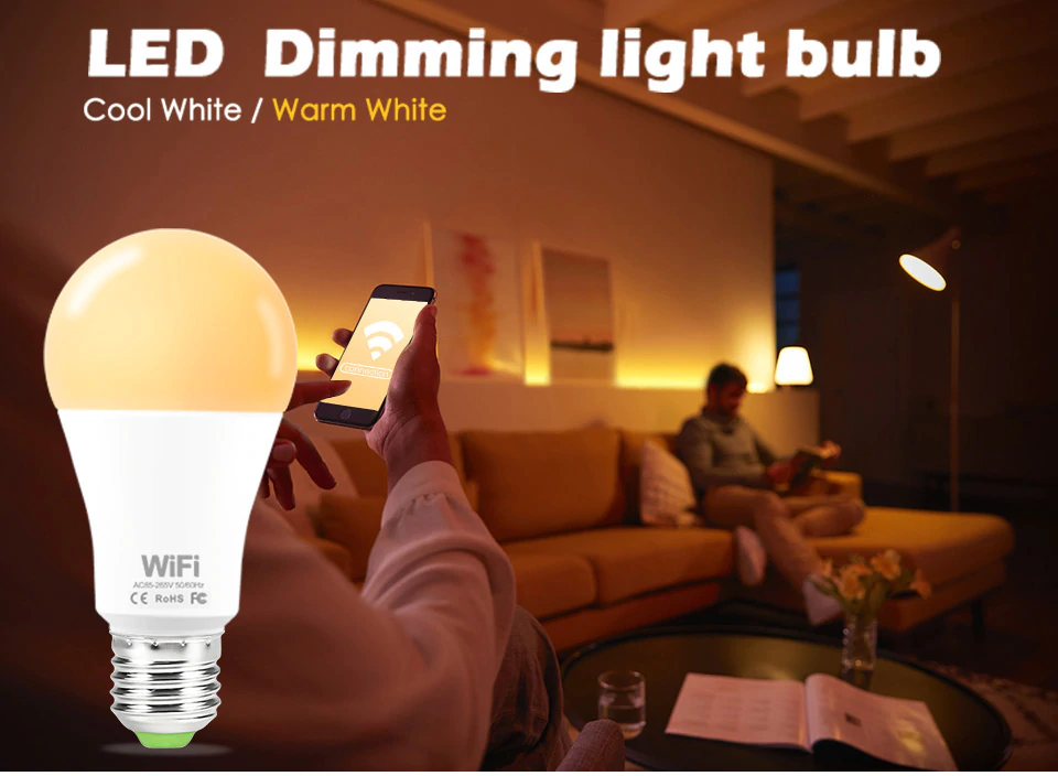 LED Dimming Light Bulb | Smart Gadget