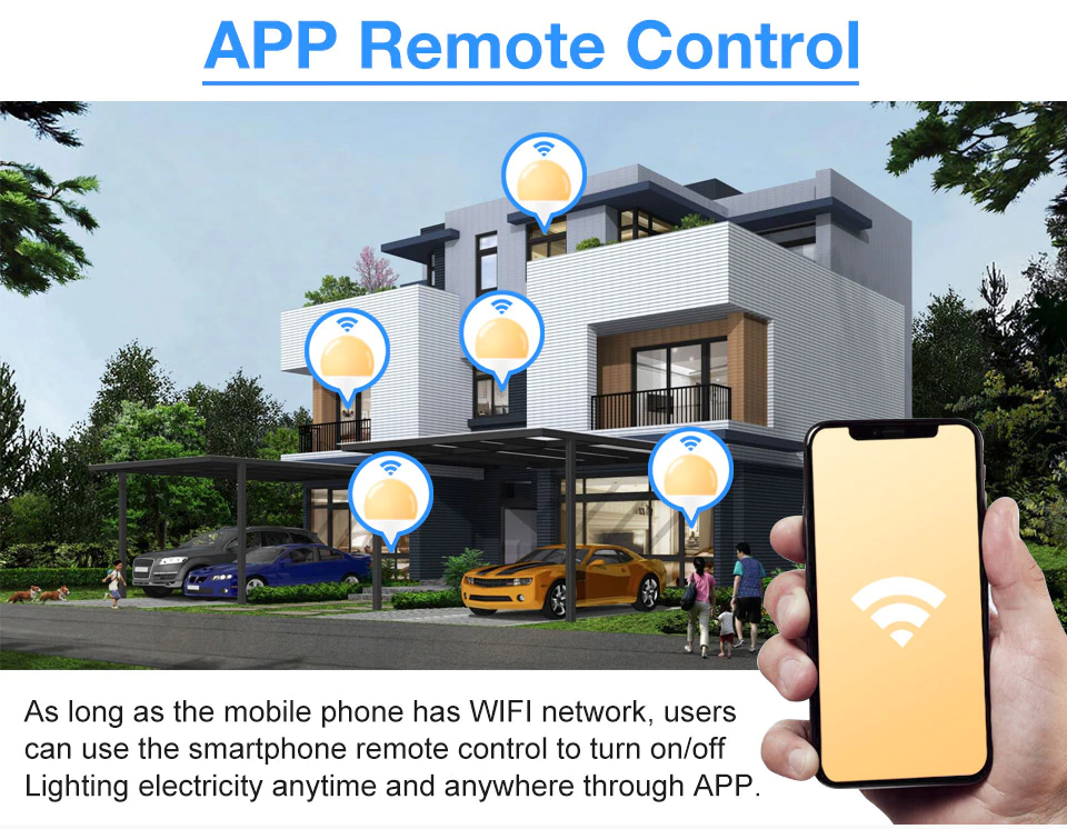 App Remote Control Of Smart Light | Smart Gadget