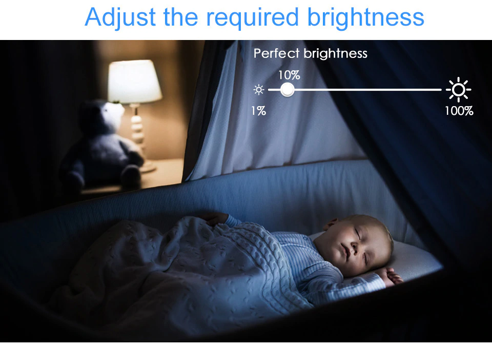 Adjust Brightness Of LED Light | Smart Gadget