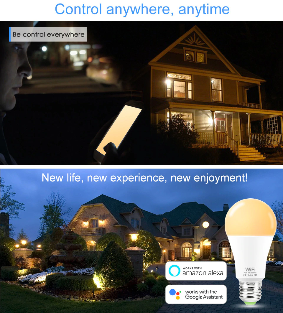 Control Anytime LED Light | Smart Gadget