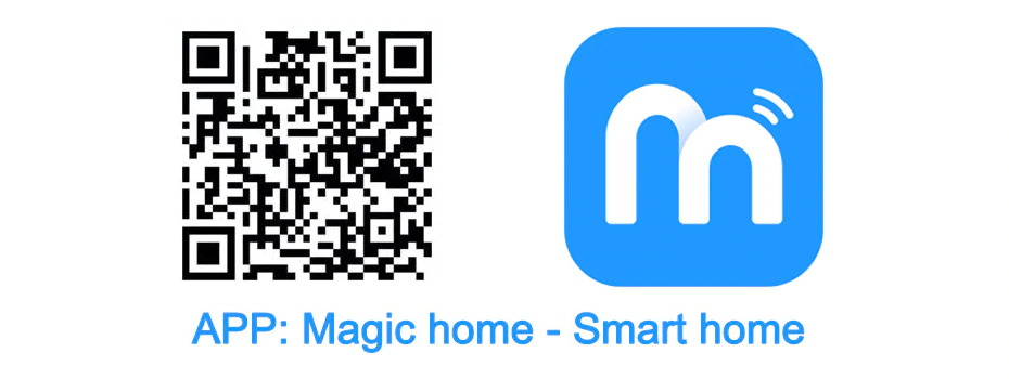 App QR Code & Name Of Smart LED Bulb  Control | Smart Gadget