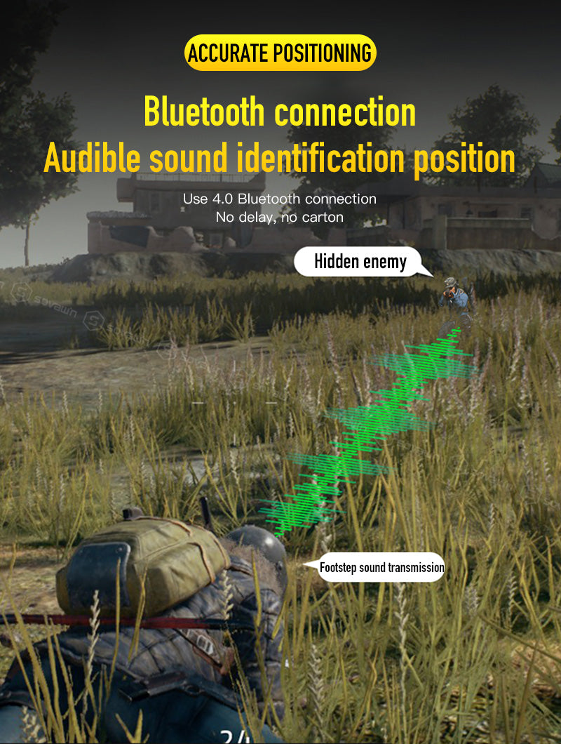 Bluetooth connection & sound identification position