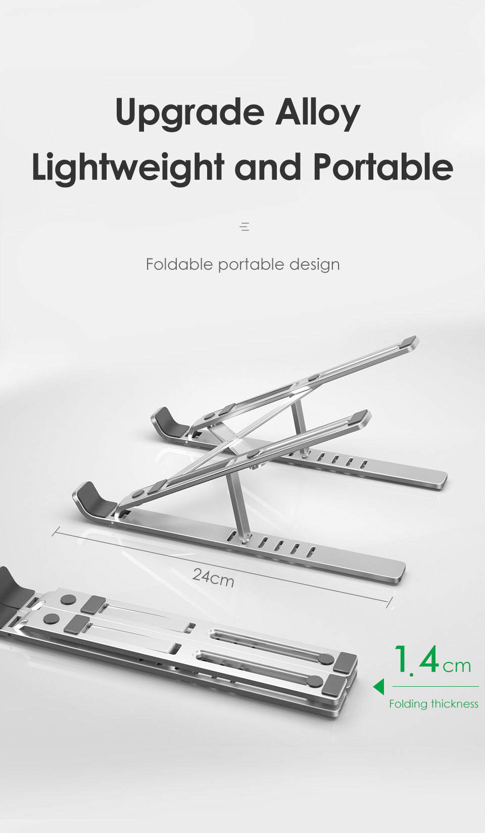 Light Weight Alloy Of Laptop Stand