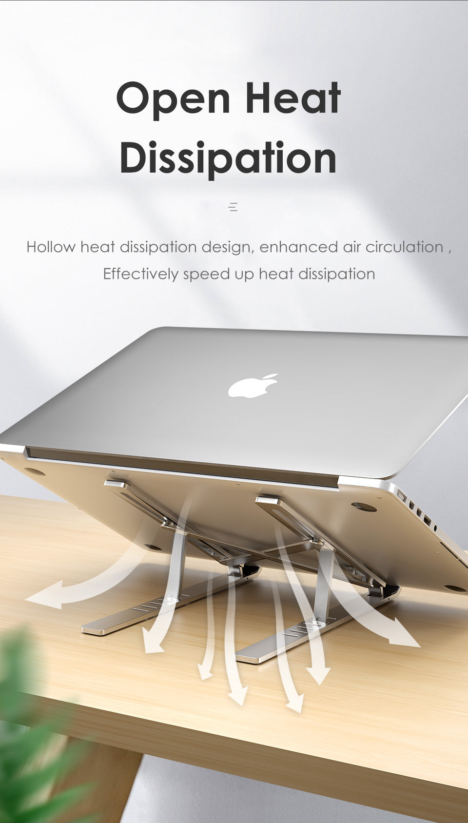 Heat Dissipation Of Laptop Stand