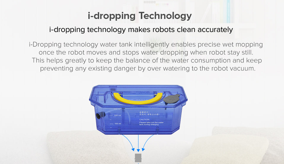 I-Dropping Technology Of Vacuum Cleaner