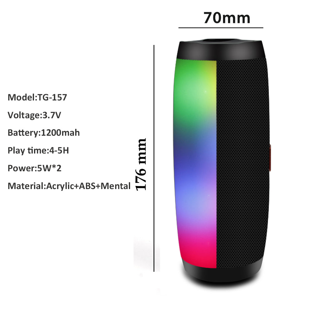 Dimensions of Bluetooth Speaker