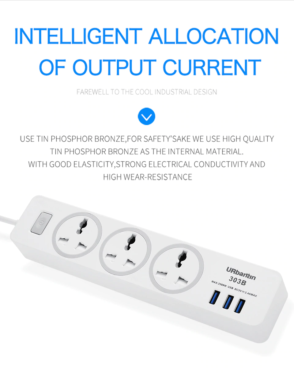 Inelligent Allocation Of OUtput Current In Power Socket