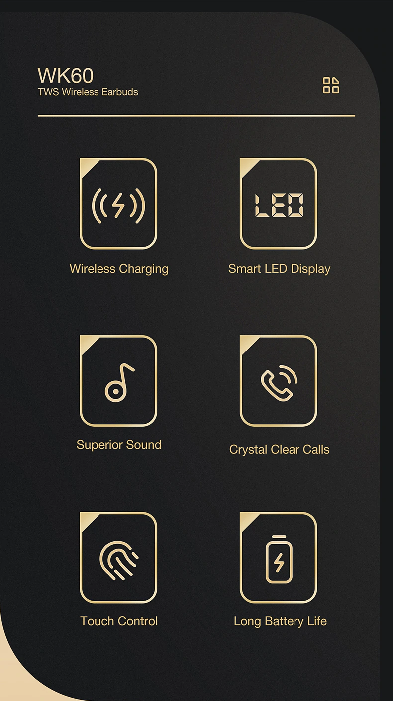 Key Features Of  LED Wireless Headphones