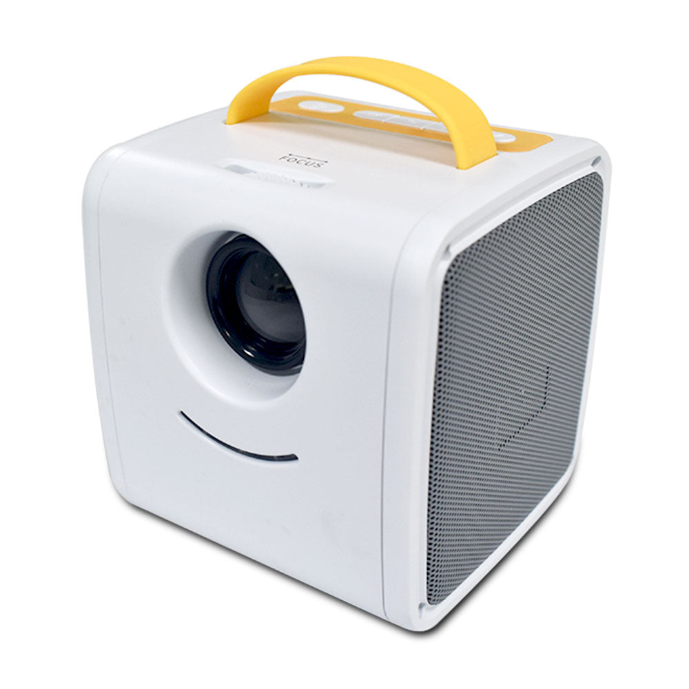Yellow Color Of Mini Projector