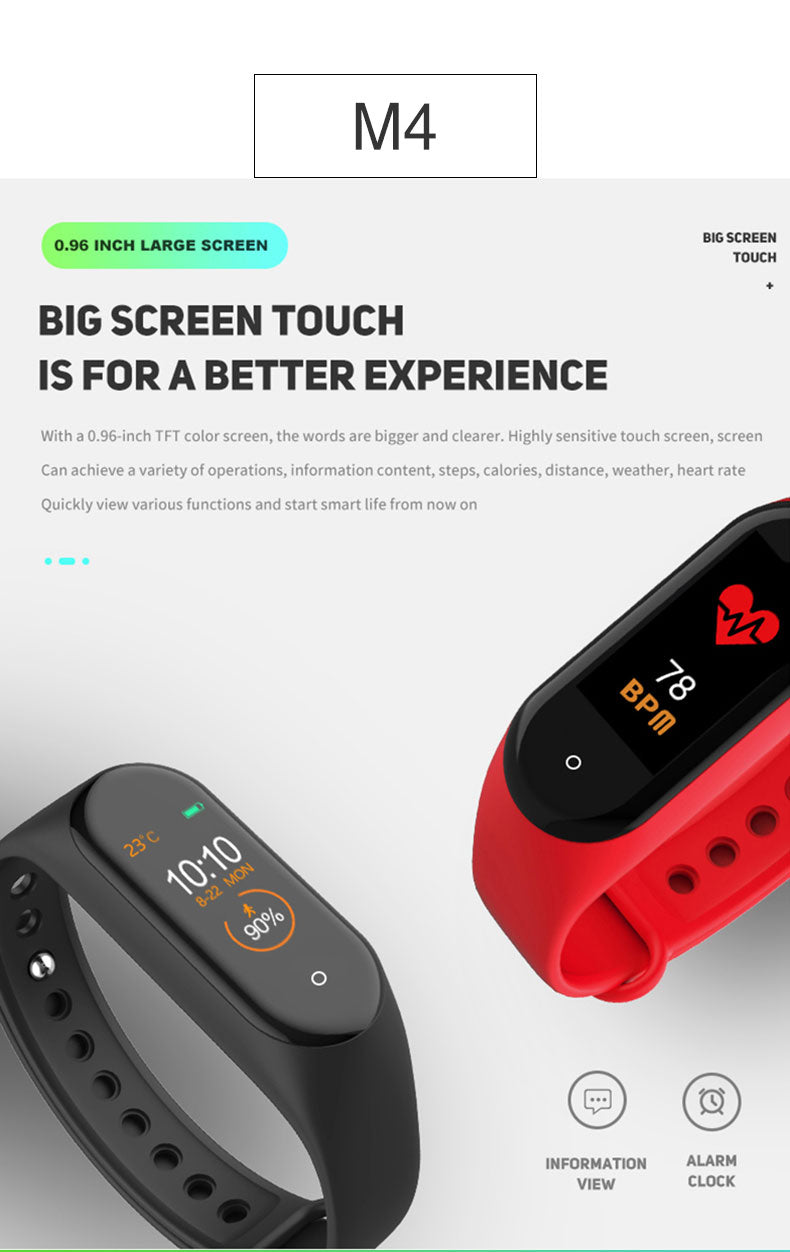Touch Screen Feature Of Fitness Band