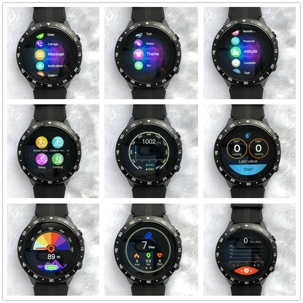 Display of all Themes of Smart Watch