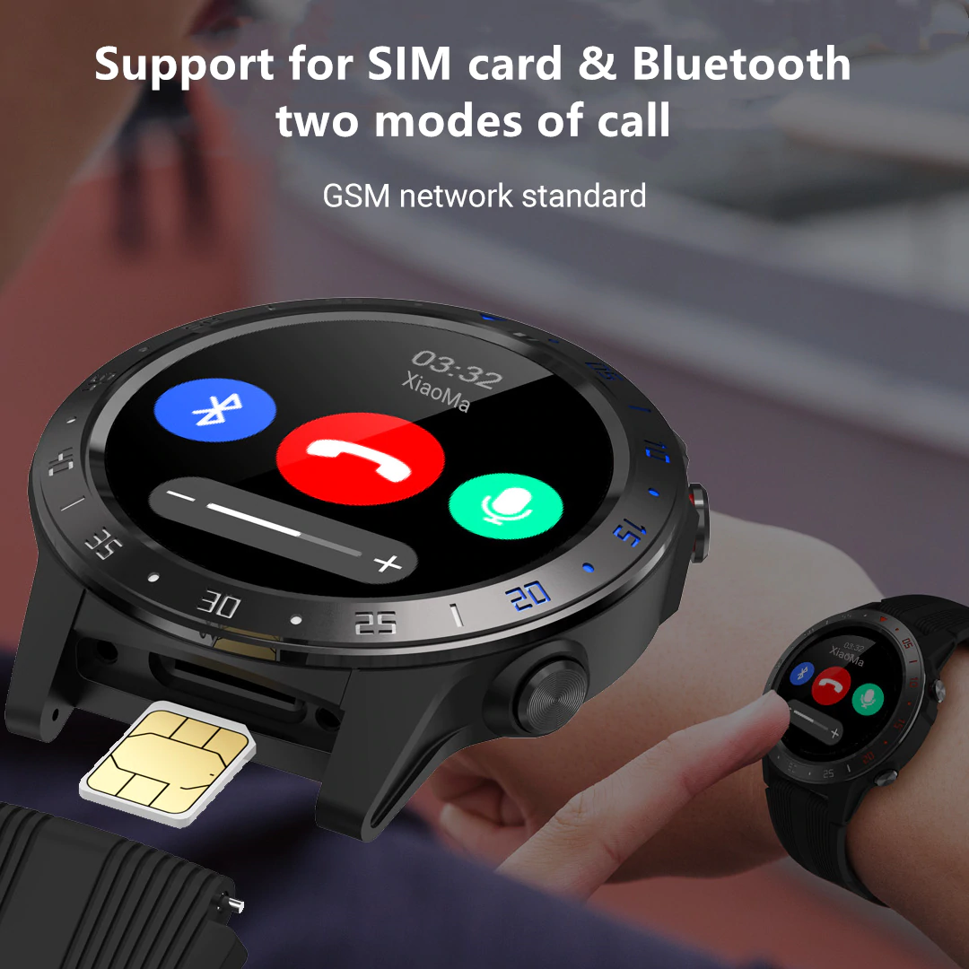 Bluetooth & SIM Card Supported Watch