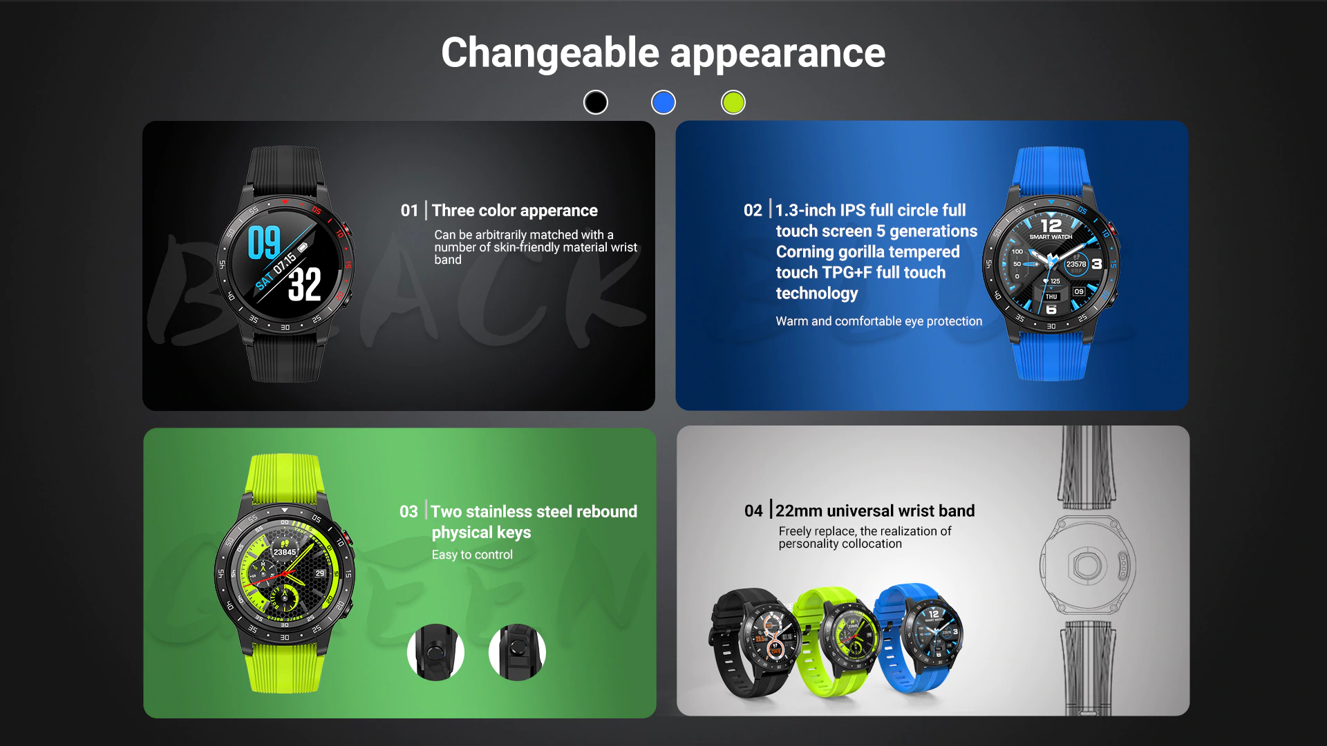 Changeable Appearance of Smart Watch
