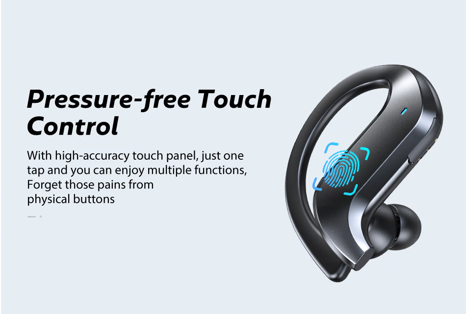 Touch Feature of True Wireless Earbuds