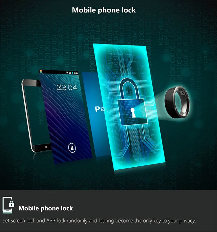 Mobile Phone Lock Through Smart Ring