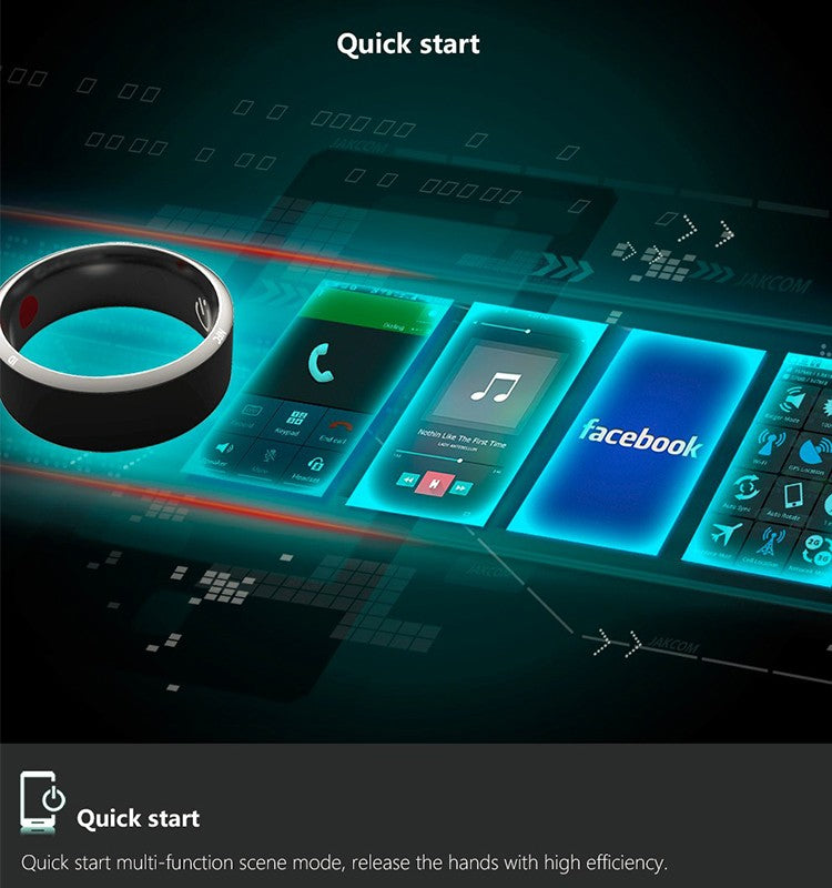 Quick Start Through Smart Ring