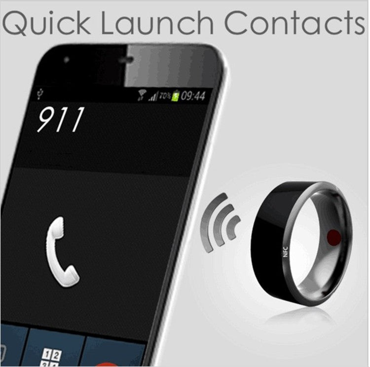 Quick Launch Contacts Through Smart Ring